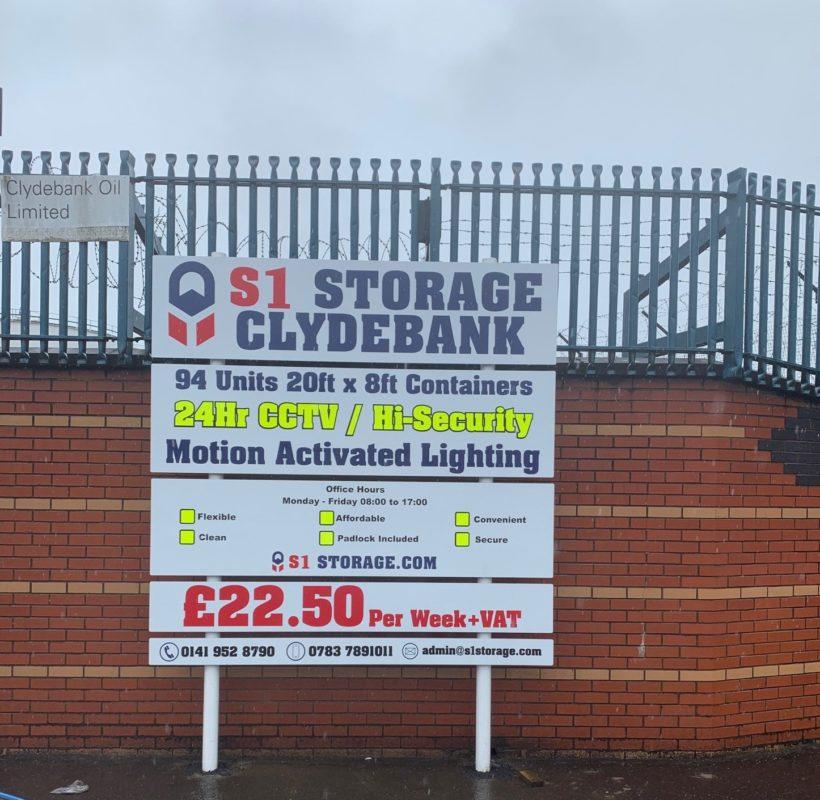 S1 Storage Clydebank Site